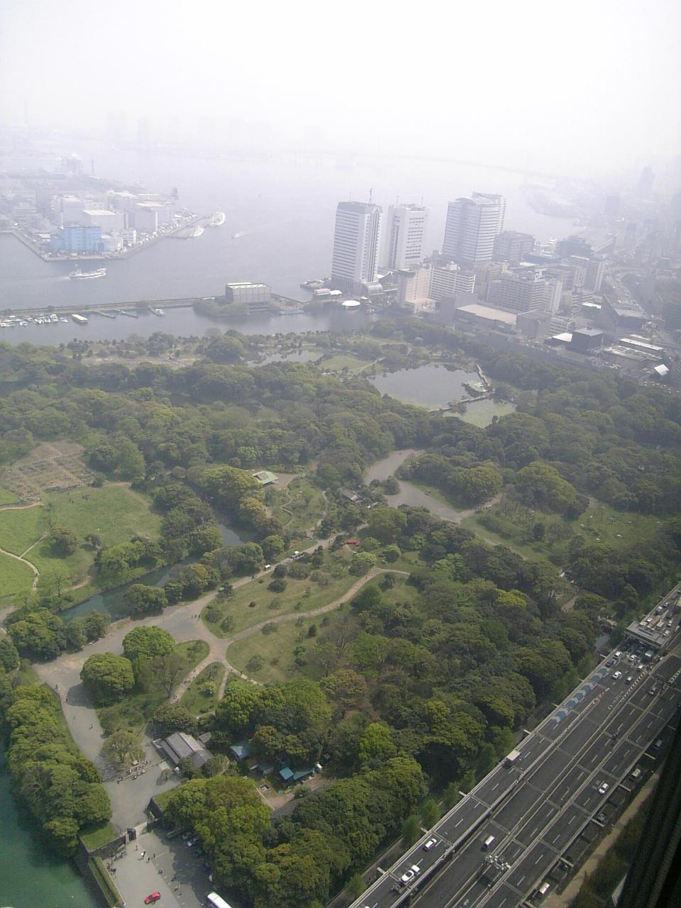 View of the Hamarikyu_Gardens