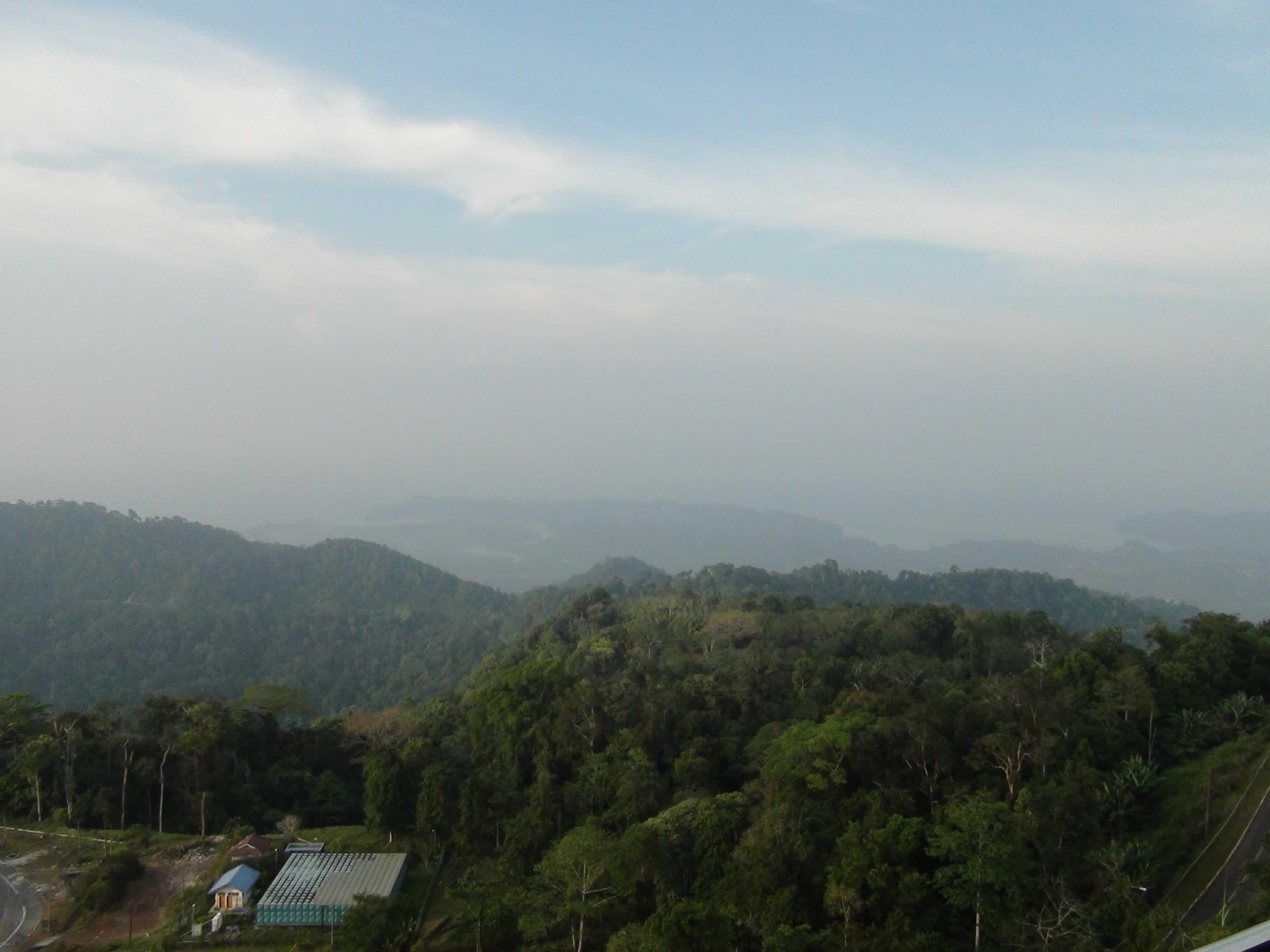 View from Gunung Raya