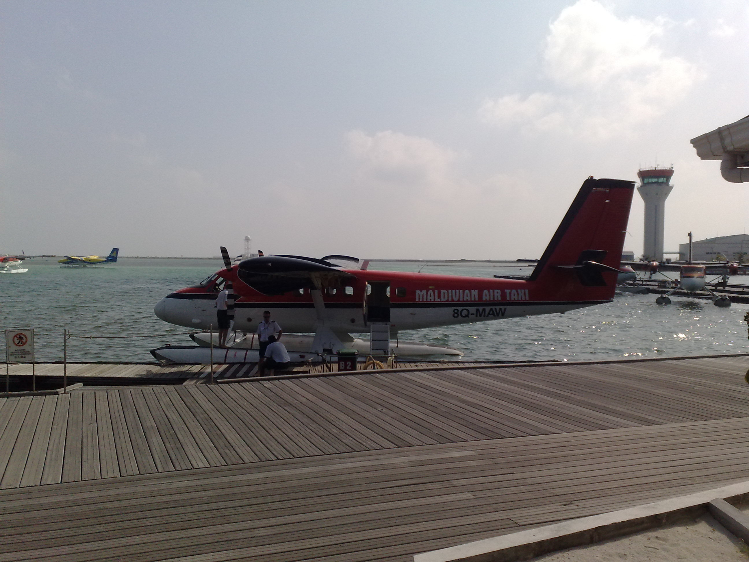 Maldivian Air Taxi Sea Plane