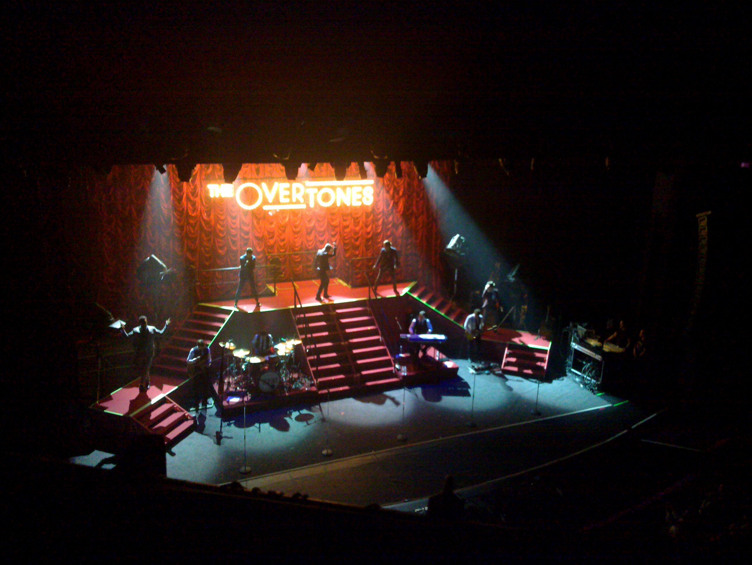 The Overtones @ London Palladium