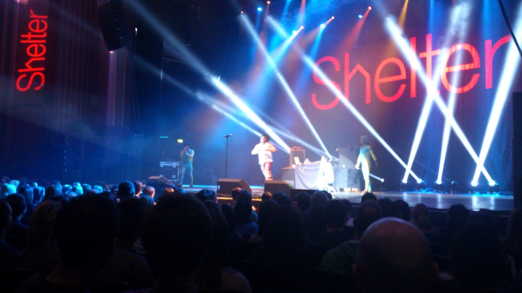 The Cuban Brothers at the Hammersmith Apollo for Stand Up For Shelter