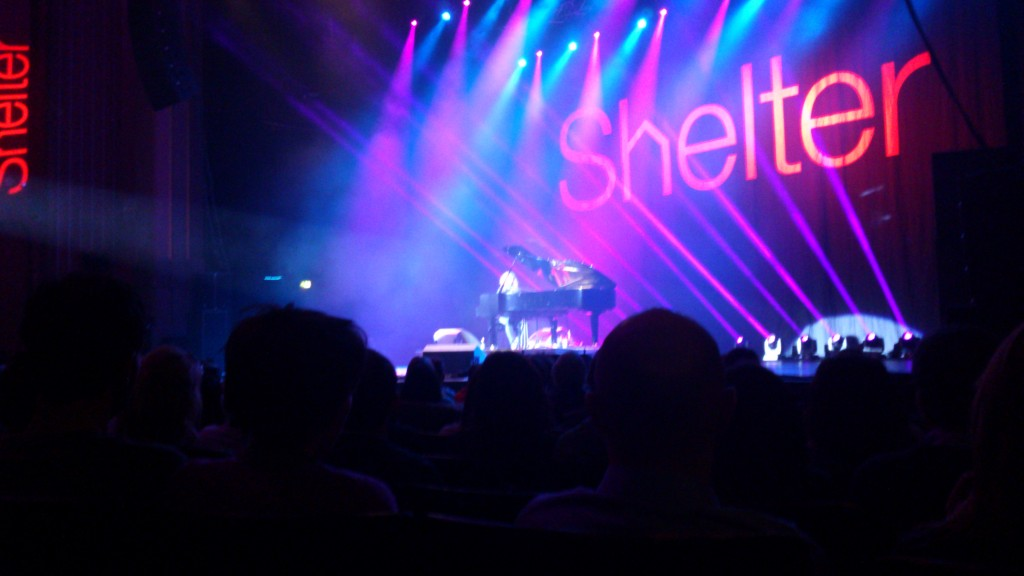 Tim Minchin at the Hammersmith Apollo for Stand Up For Shelter