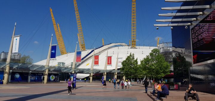 Up At The O2 - climbing the iconic venue