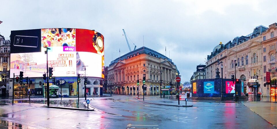 Quiet Piccadilly Circus