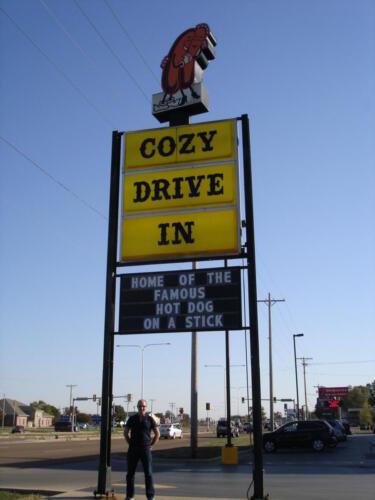 Cozy Dogs Drive Thru Restaurant
