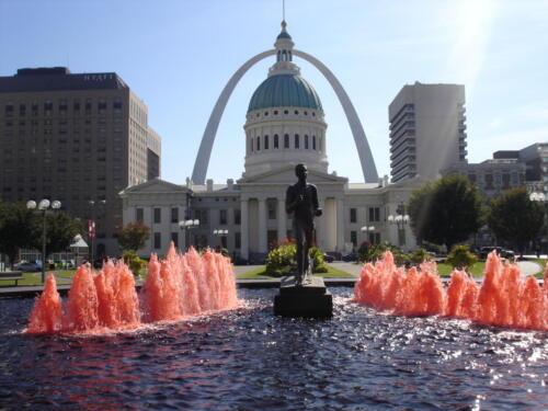 Kiener Plaza, St Louis