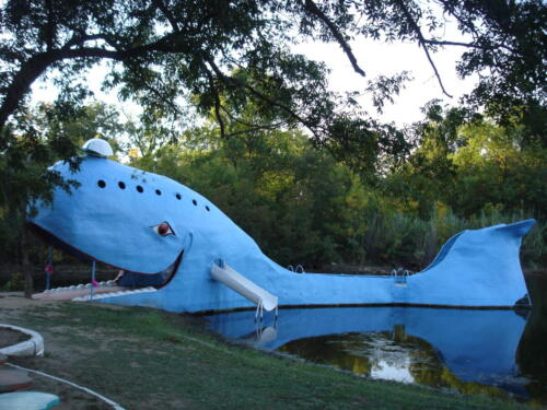 The Blue Whale, Catoosa