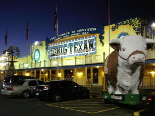 The Big Texan, Amarillo TX