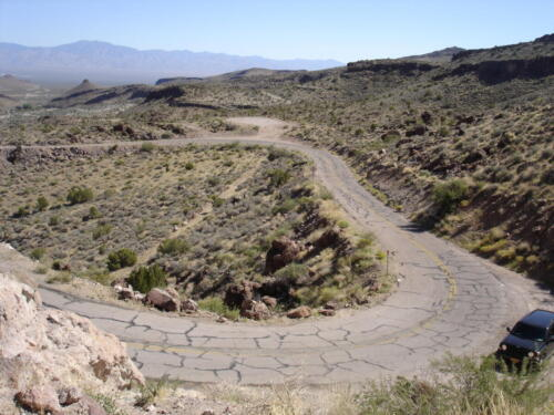 The Road From Kingman to Needles